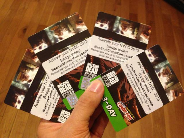 NY Comic Con 3-Day tickets. Yes they are.