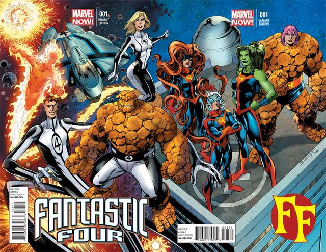 Fantastic Four and FF by Matt Fraction