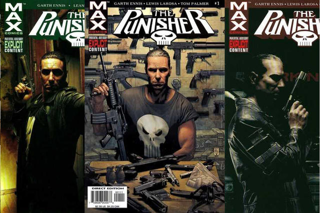 Garth Ennis Punisher MAX Frank Castle Marvel Comics
