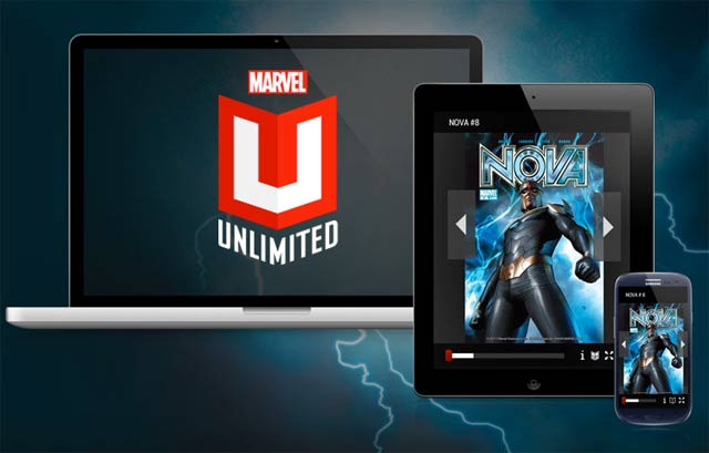 Marvel Unlimited Subscription Service