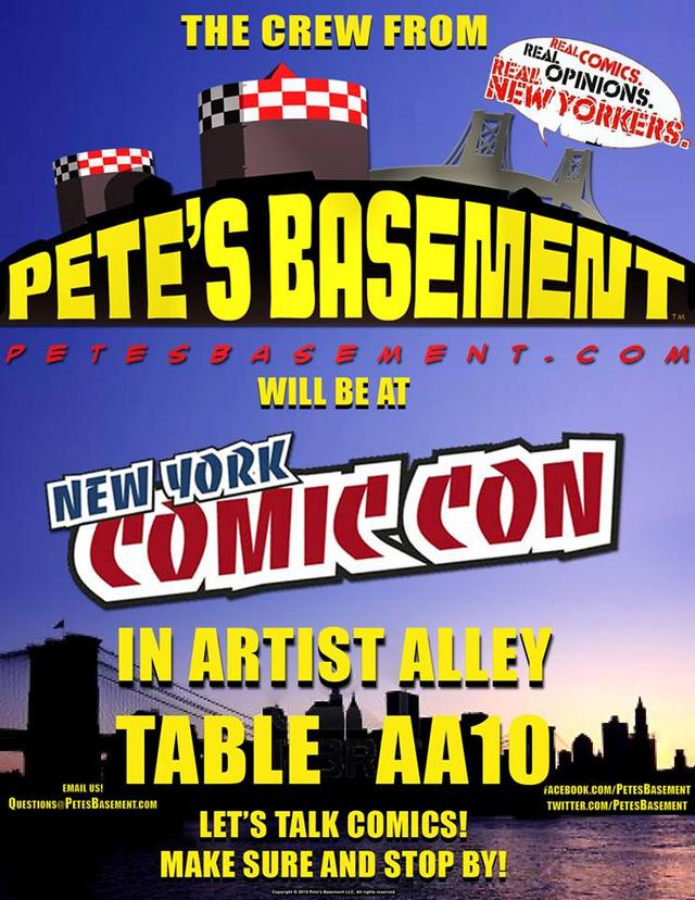 Pete's Basement NYCC 13