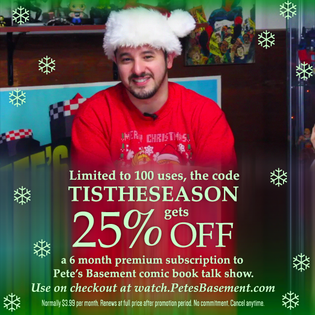 Pete's Basement Holiday Discount Code.