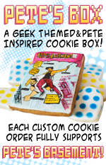 Get some delicious cookies from 8-bit Bakeshop and support Pete's Basment at the same time!